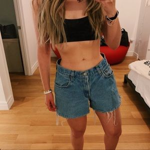 Levi's Relaxed Fit 550 Cut Off Jean Shorts